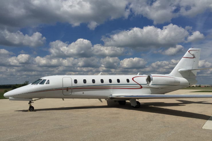 Cessna Citation Sovereign Aircraft