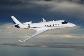 Gulfstream 150 Aircraft Flying