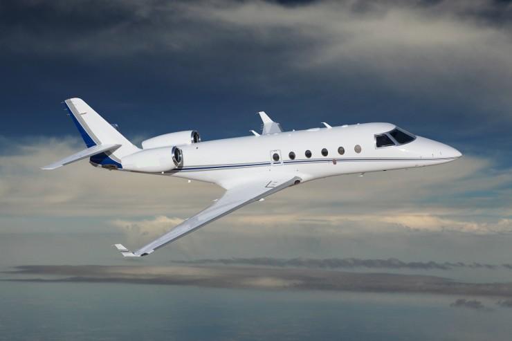 Gulfstream 150 Aircraft Flying