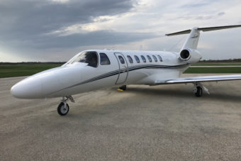 Citation CJ3 Jet Aircraft