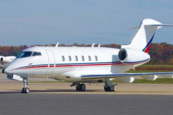 Challenger 300 Jet Aircraft Exterior