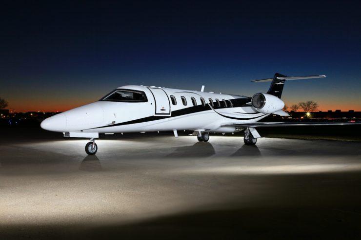 Lear 45XR Charter aIRCRAFT