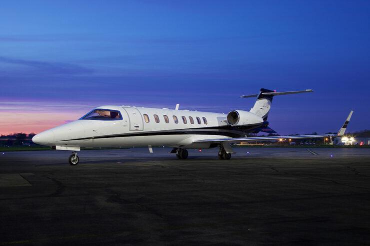 Learjet 45XR Charter Aircraft Exterior
