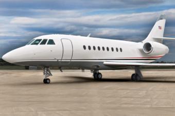 Falcon 2000 Charter Aircraft