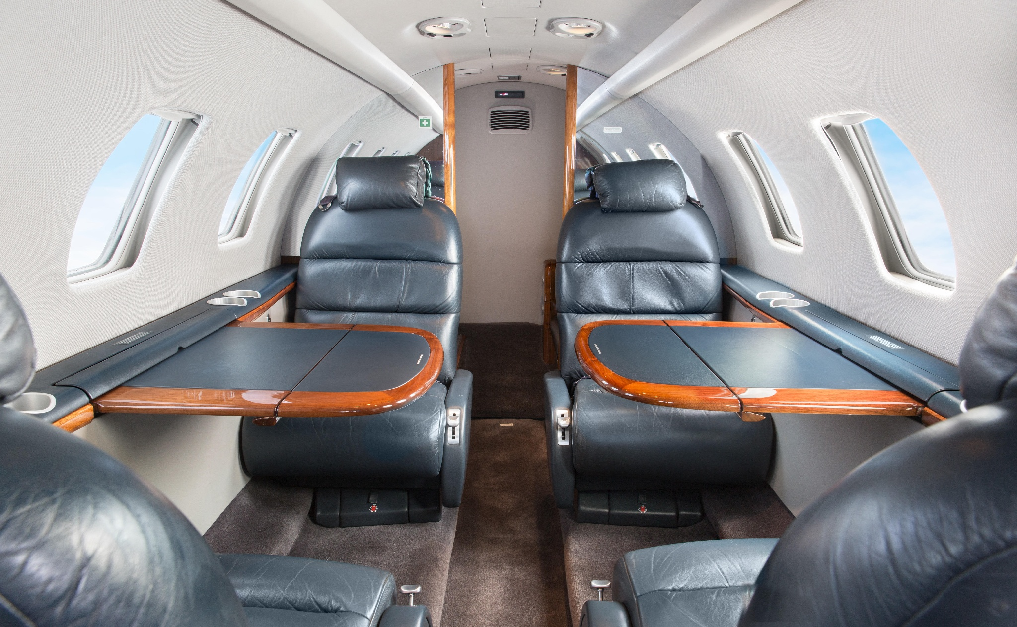 Interior of Citation CJ1+ from Aviation Advisor, Inc. fleet