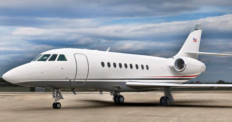 Aviation Advisor, Inc. Falcon 2000 Exterior